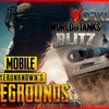 PUBG MOBILE and WORLD of TANKS BLITZ