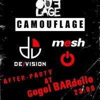 Afterparty: Camouflage / De/Vision / Mesh