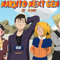 Naruto and Sasuke next  gen