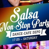 "17.05 – Salsa Non-Stop Party в данс-кафе ""ДеПо"""