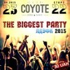 "23.04 - COYOTE CLUB ""THE BIGGEST PARTY"""