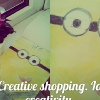 #DIY Creative shopping^_^ . Ideas for creativity