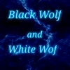 Black Wolf and White Wof