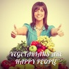 ♥VEGETARIANS ARE HAPPY PEOPLE♥