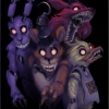Five Nights at Freddy's 1, 2, 3, 4