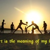 Sport is the meaning of my life